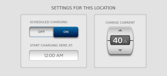 Scheduled Charging 1